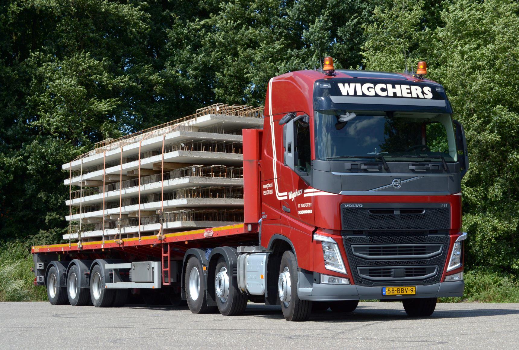 Vrachtwagen Wigchers
