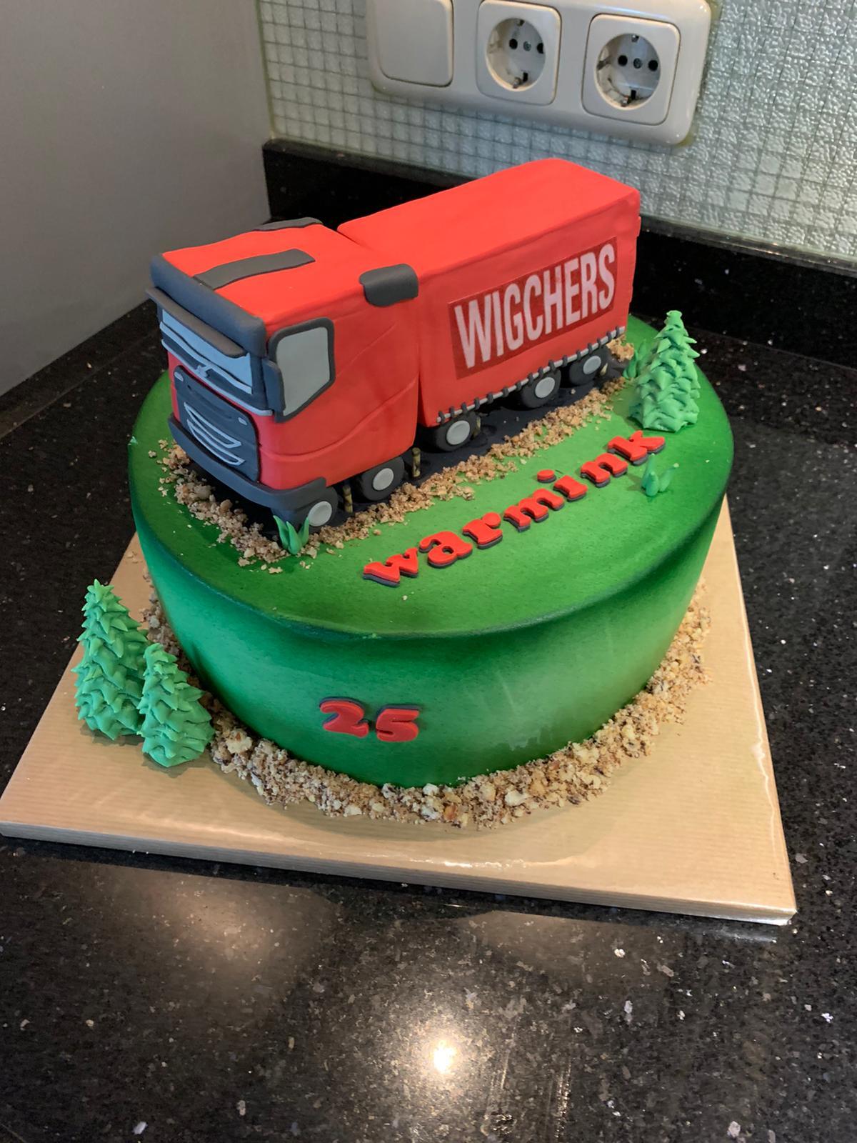 Wigchers Volvo taart