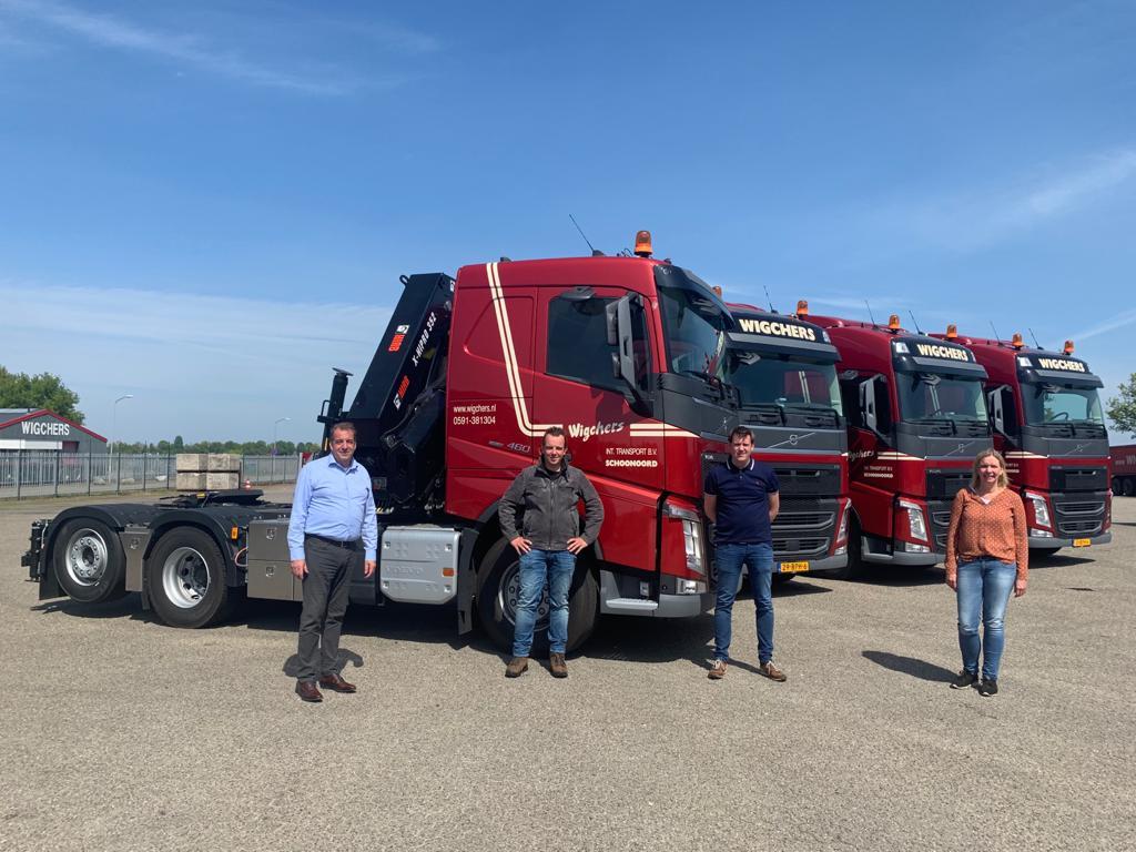 Aflevering nieuwe Volvo 500pk Euro 6 truck