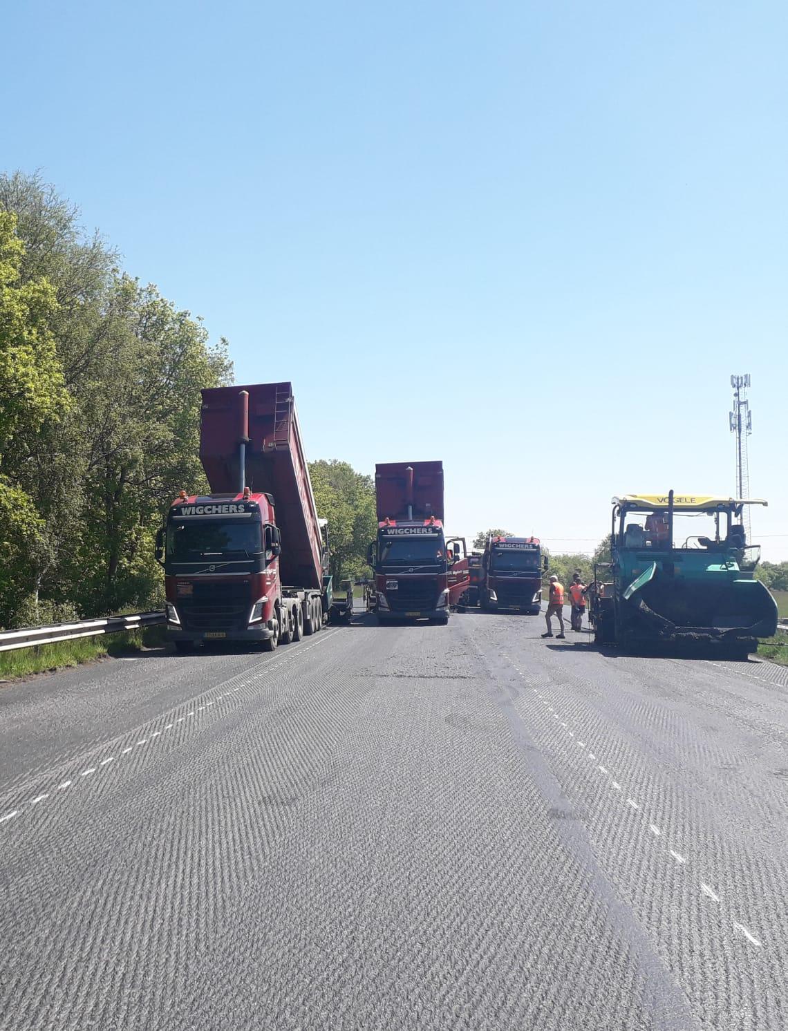 Transport asfalt N381